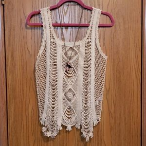 Maurices XS Lace Tank Top